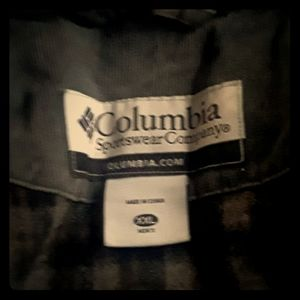 Columbia winter coat heavy duty fleece lining